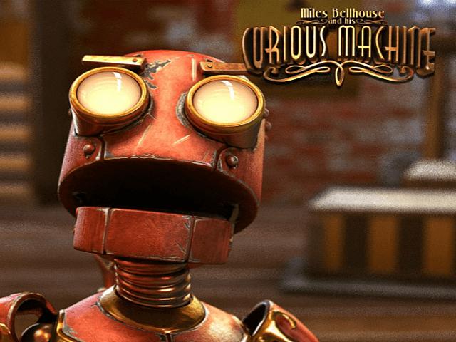 Игровой слот His Curious Machine