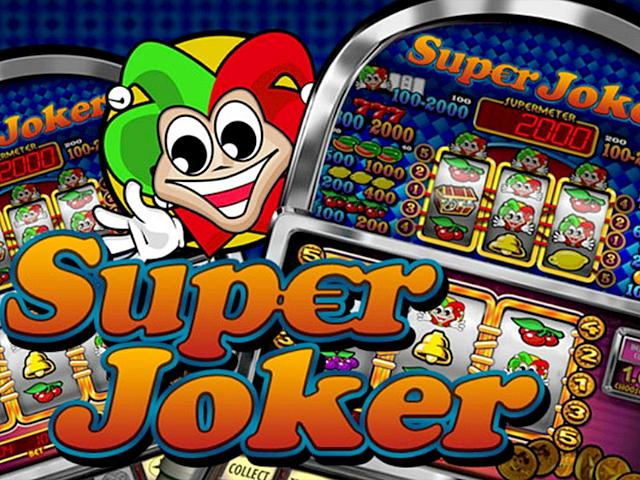 Игровой слот Super Joker